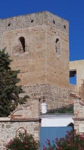 Het kasteel in Alora
