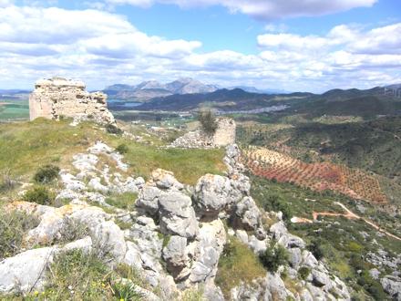 Turon Castle Views towards Ardales