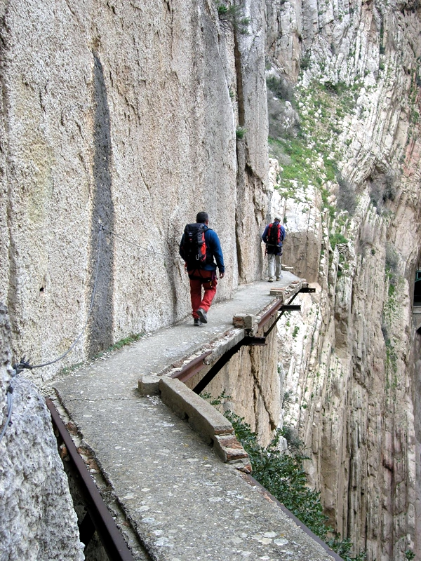 El Caminito del Rey in El Chorro : The most Dangerous Walk in the world  Inl...
