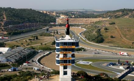 Jerez de la Frontera MotoGP Race Track