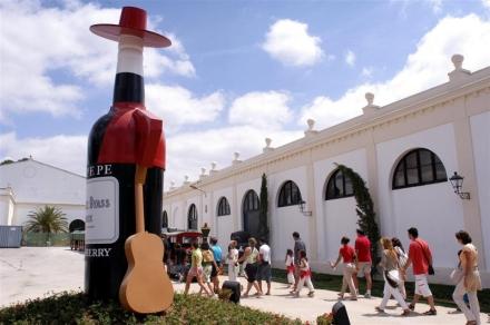 Bodega Tio Pepe in Jerez de la Frontera
