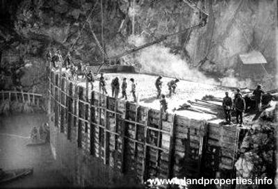 cueva del hundidero ronda montejaque dam building
