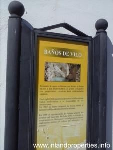 periana banos de vilo new sign