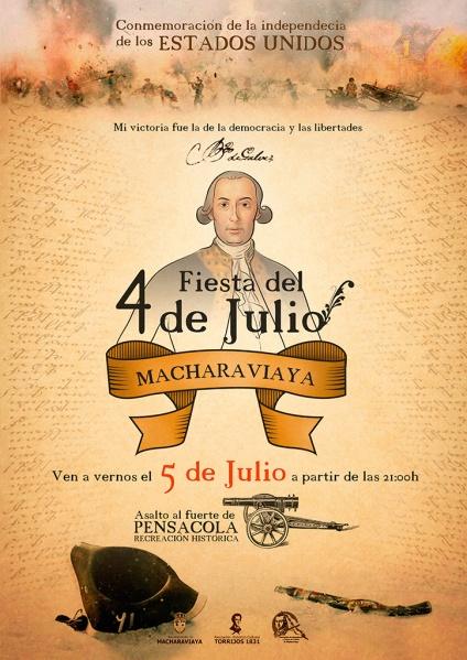 Macharaviaya 4 of July Celebration Reenactment