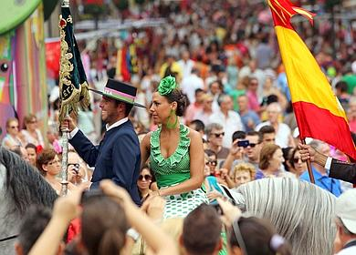 Flamenco and tradition at the Malaga Feria 2014