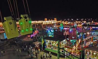 Night Feria of Malaga in full