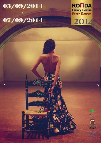 ronda feria pedro romero goyesca 2014 cartel