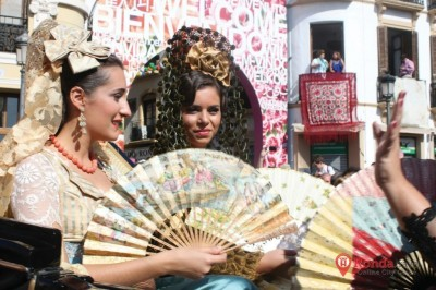Beautiful dressing up in Ronda Fair