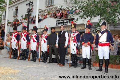 mijas liberation napoleon army french army