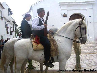 mijas liberation napoleon army guerrillas