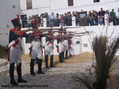 mijas liberation napoleon army shooting