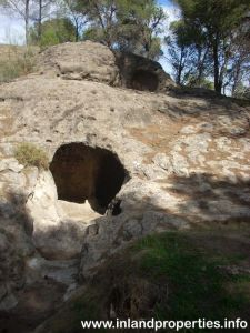 ardales chorro necropolis aguilillas tumba1-1