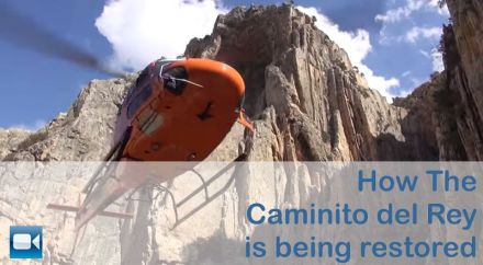 How Caminito del Rey in ARdales Alora is being restored
