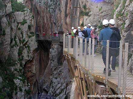 world most dangerous path caminito del rey ardales spain opening 2015-1