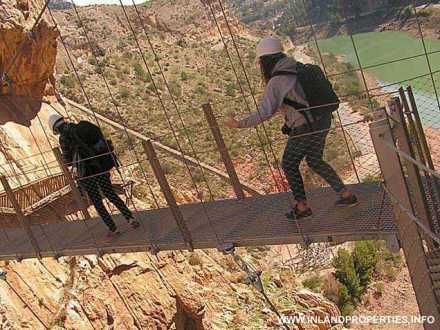world most dangerous path caminito del rey ardales spain opening 2015-2