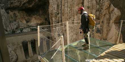 world most dangerous path caminito del rey ardales spain opening 2015-4