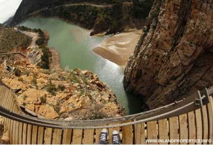 world most dangerous path caminito del rey ardales spain opening 2015