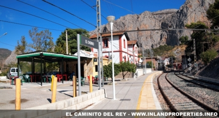 El Chorro Train Station, start of Caminito del Rey