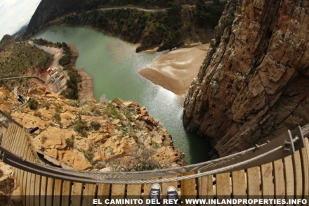 Caminito del Rey as seen from Google Street Maps future View