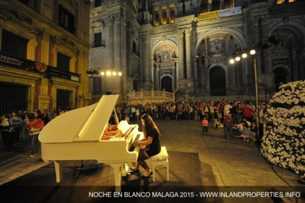 Noche en Blanco 2015 in Malaga : Free entrance to Museums