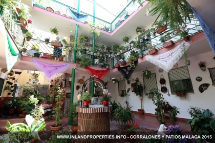 Route of the Malaga Patios : Tapas and Wine