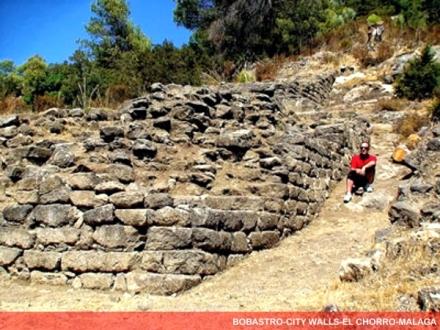 bobastro chorro caminito del rey alcazaba city wall fortress