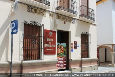 Museo del Bandolero in Ronda - Fachade